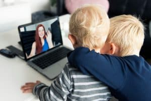 Virtual Visitation: How Technology Helps Divorced Parents Stay Close to Their Kids